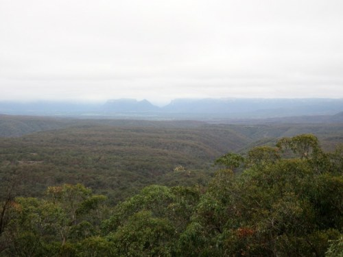 Capertee Valley viewpoint 2