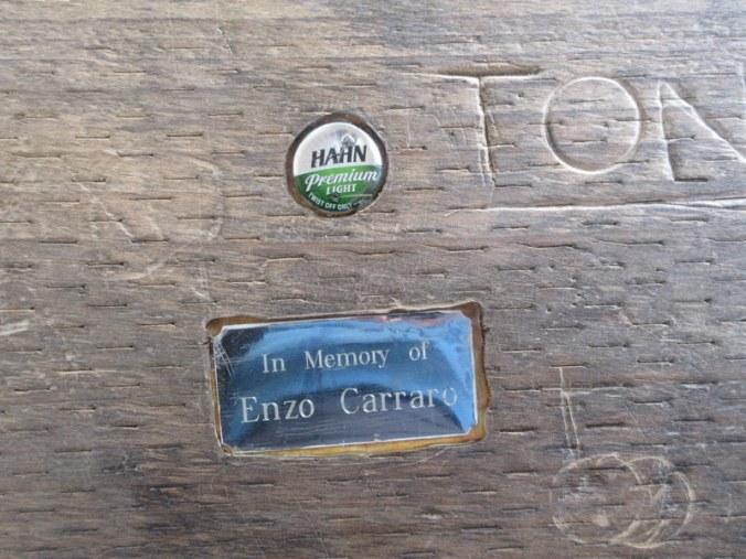 Enzo in wood