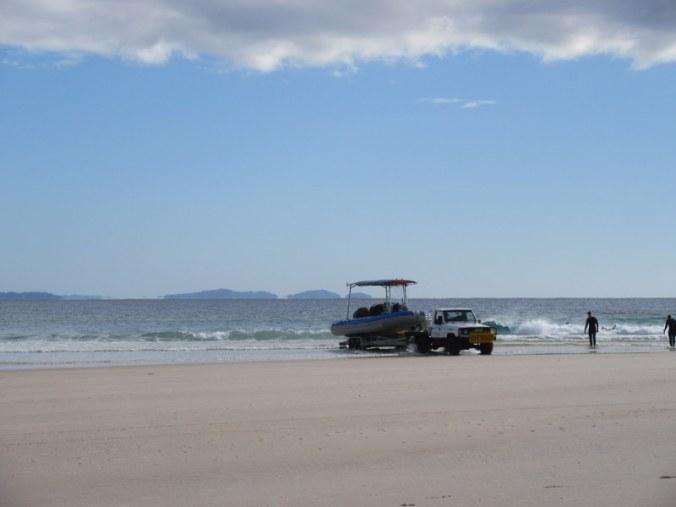 Byron Beach launch