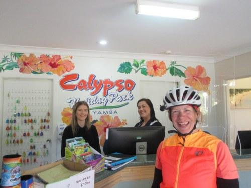 Calypso check-in