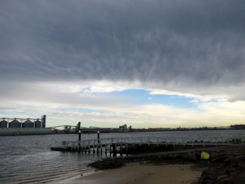 Cool clouds in Newcastle