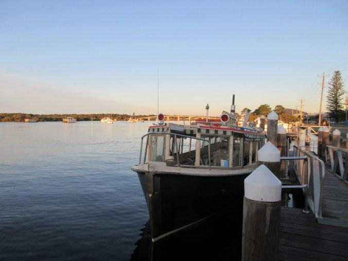 Ferry at Tea Gardens
