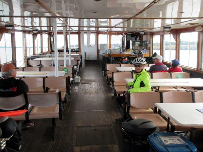 Ferry inside