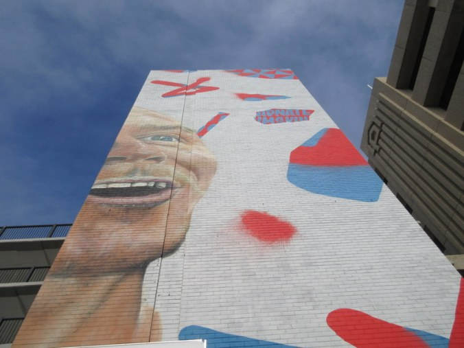 Newcastle wall
