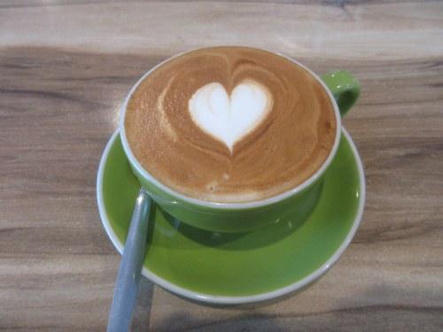 Peleton coffee - yum