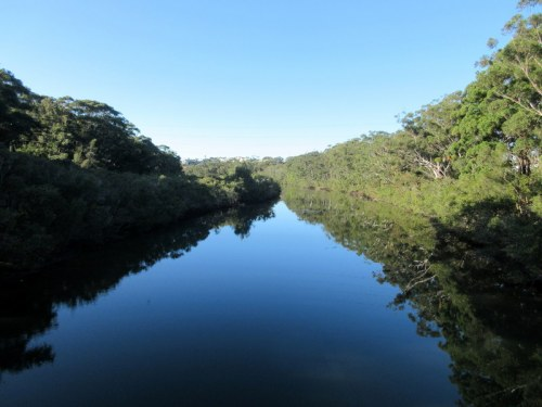 River at Coffs Harbour