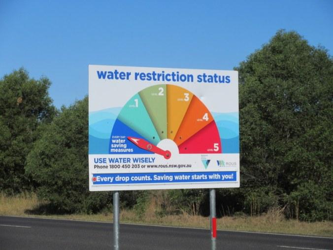 Water, not fire, warning
