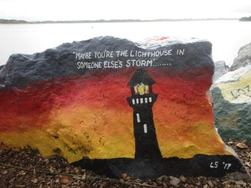 Waterfront art rocks 1