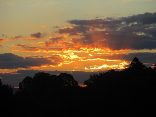Sunset on our escape Covid tour 1